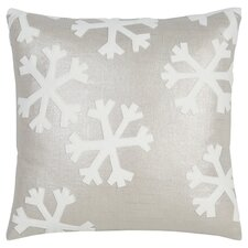 Tinsel Town Falling Snow Throw Pillow