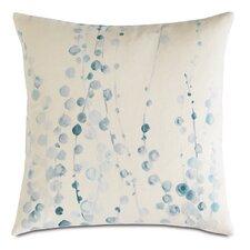 Badu Adler Hand-Painted Down Throw Pillow