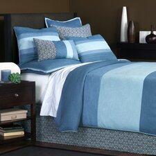 Mondrian Water Button-Tufted Comforter