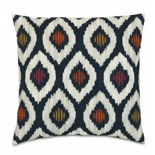 Vita Indigo Fabric Throw Pillow