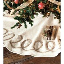 Jingle Bell Rock Loop-de-loop Tree Skirt