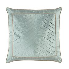 Kinsey Serico Pleats Throw Pillow