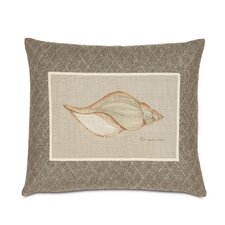 Avila Hand-Painted Shell Throw Pillow