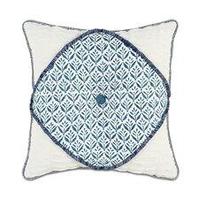 Ceylon Kari Iris Diamont Tufted Throw Pillow