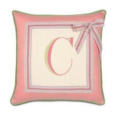 Pinkerton Eli Monogram Throw Pillow