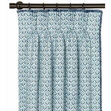Ceylon Kari Iris Single Curtain Panel