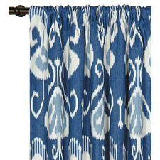 Ceylon Cotton Rod Pocket Single Curtain Panel