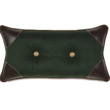 MacCallum Gable Tufted Lumbar Pillow