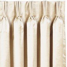 Lucerne Three Finger Pleated Single Curtain Panel
