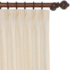 Sadler Three-Finger Pleat Single Curtain Panel