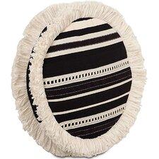 Evelyn Fullerton Ink Tambourine Throw Pillow