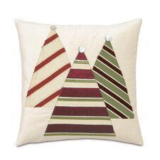 Candy Cane Christmas Tree Throw Pillow