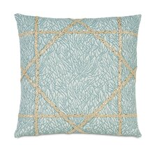 Coastal Tidings Coastal Weaving Throw Pillow