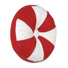 North Pole Mint Throw Pillow