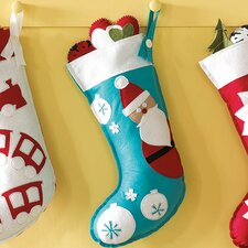 North Pole Jolly Friend Stocking