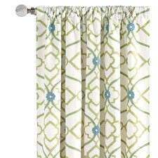 Bradshaw Cotton Rod Pocket  Single Curtain Panel