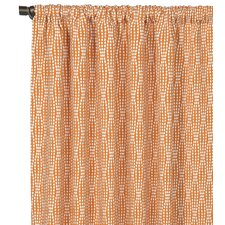 Dawson Rod Pocket Single Curtain Panel