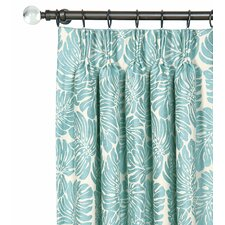 Capri Pinch Pleat Single Curtain Panel