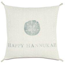 Coastal Tidings Happy Hannukah Indoor/Outdoor Throw Pillow