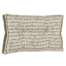Daphne Grenoble Boxed and Tufted Lumbar Pillow