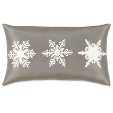 Dreaming of a White Christmas Frosted Flakes Lumbar Pillow
