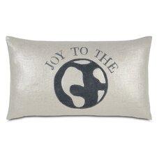 Tinsel Town World of Joy Lumbar Pillow