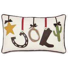 Jingle Bell Rock Party Hop Lumbar Pillow