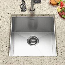 "Contempo 18"" x 17"" Zero Radius Undermount Bar Sink"
