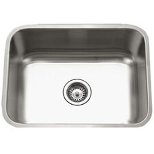 "Eston 23"" x 17.75"" Undermount Rectangular Single Bowl Kitchen Sink"