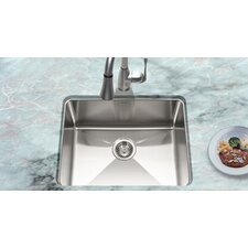 "23.07"" x 18"" Nouvelle Undermount Single Bowl Kitchen Sink"