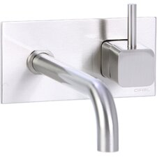 Quadra Wall Mounted Bathroom Sink Faucet with Single Handle