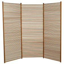 "72"" x 82"" Lily 3 Panel Room Divider"