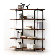 "Studio Metal 66"" Shelf Bookcase"