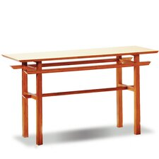 Lotus Console Bamboo Table