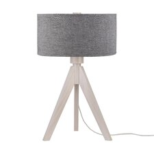 "Woody 28"" H Table Lamp with Drum Shade"