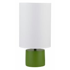 "Devo 18"" H Table Lamp with Drum Shade"