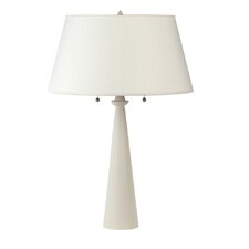 "Nikki Small 24"" H Table Lamp with Empire Shade"