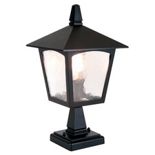 York Pedestal 1 Light Pier Mount Light