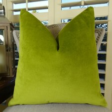 Contentment Grass Cotton Throw Pillow