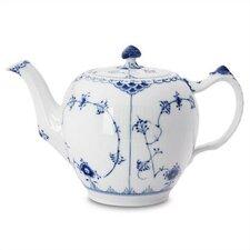 Blue Fluted Half Lace 1.06-qt. Teapot