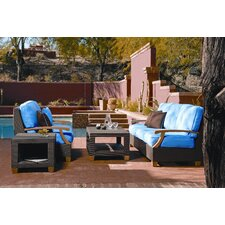 Ciera 4 Piece Deep Seating Group with cushions