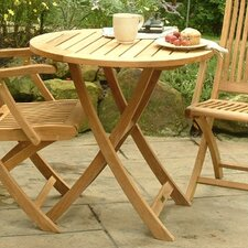 "Cambridge 30"" Round Folding Cafe Table"