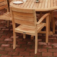 Sedona Stacking Dining Arm Chair (Set of 2)