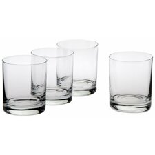 Classic Double Old Fashioned Glass (Set of 4)