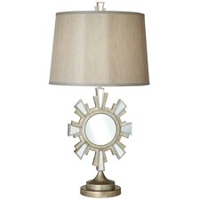 "Solar Reflections 32"" H Table Lamp with Empire Shade"