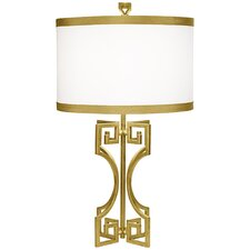 """PCL Phila 30"""" H Table Lamp with Drum Shade"""