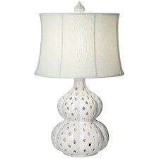 """PCL Mercata 30"""" H Table Lamp with Drum Shade"""
