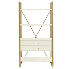 """Oasis Harwell 69"""" Accent Shelves Bookcase"""