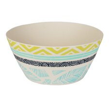 Collage Round Salad Bowl