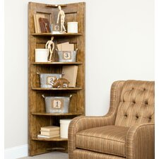 "New Vintage 70"" Corner Unit Bookcase"